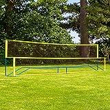 Vermont Procourt Combinazione Rete | per Tennis, Badminton, Pickleball, pallavolo e Calcio Tennis | Perfezioni per Il Giardino | Fatto da Pali d'Acciaio durevoli | 100% Portatile (20ft)