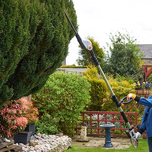 Perhaps you think it's hard to find an affordable hedge trimmer that will get the job done fast and help you maintain that perfect hedge. Well, the VonHaus Cordless Pole Hedge Trimmer will do exactly that and it's one of the best, what we would describe as an affordable model.