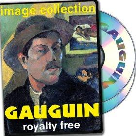 Gauguin, plus de 100 images de haute résolution numérique, droits Collection Free DVD