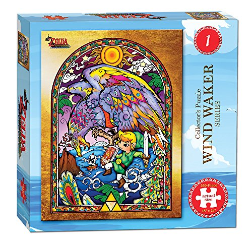 Zelda The legend of Wind Waker collector' S puzzle Series