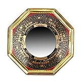 Chino tradicional Feng Shui pa kua espejo convexa y cóncava Pa Kua espejo