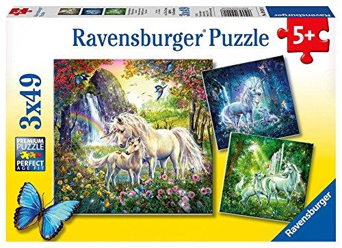 Ravensburger Unicorni - Puzzle 3x49 Pezzi