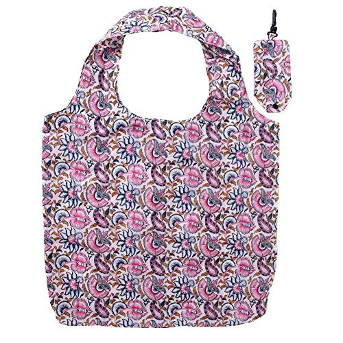 Sanchi Creation Reusable Eco Fold up Shopping,Grocery Bag,Water Proof, Strong and Durable with Pouch