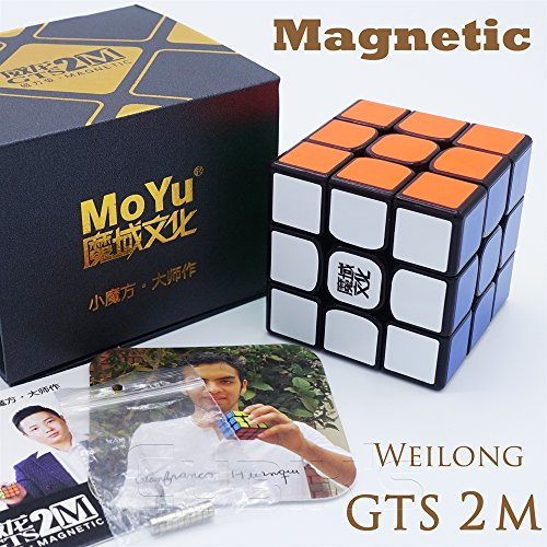 MAGNETICO *Weilong GTS v2 M* - MoYu 3x3 Professionale & Competizione Speed Cube Magic Cube Rompicapo...