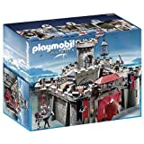 Playmobil - 6001 - Jeu De Construction - Citadelle Des Chevaliers Aigle