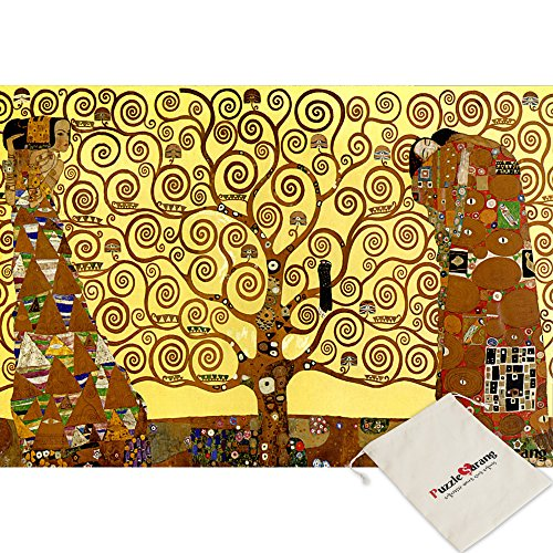 B&N Bien, Tree of Life - Gustav Klimt - 1000 Parte Jigsaw Puzzle [Pouch Inclusa]