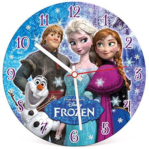 Clementoni 23021 - Clock Puzzle Frozen