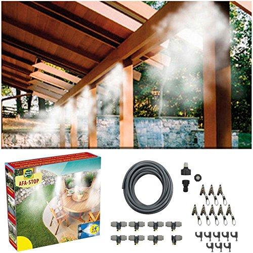 Kit set nebulizzatore ad acqua impianto di raffreddamento nebulizzazione per ombrellone gazebo...