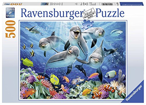 Ravensburger Italy Puzzle Delfini, 500 Pezzi 14709