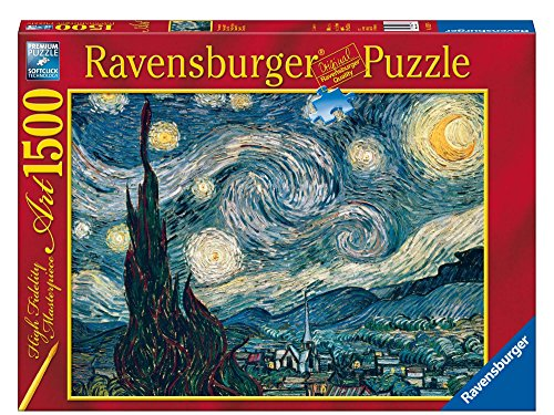 Ravensburger 16207 Puzzle Notte Stellata di Van Gogh, 1500 Pezzi