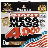 Weider Mega Mass 4000, Schoko (1 x 7 kg)