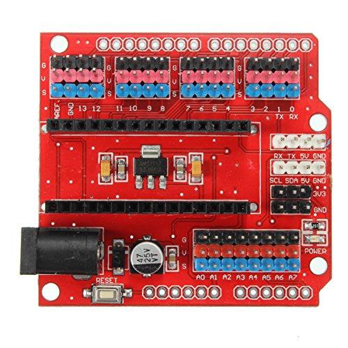 61sOy%2BmOFqL - WINGONEER Expansion Prototype Shield Módulo de Placa de extensión de E/S para Arduino Nano V3.0