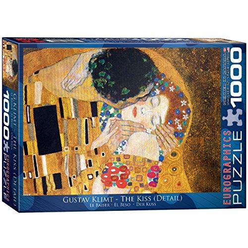 Eurographics 00142 Klimt: Il bacio, Puzzle, 1000 pezzi
