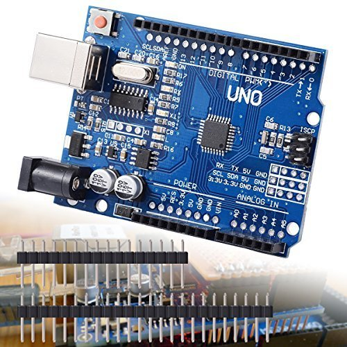 61tGHFwgyCL - XCSOURCE® Tablero UNO R3 Rev3 Desarrollo ATmega328P CH340G AVR Compatible Arduino + Cable para Arduino Hum TE113