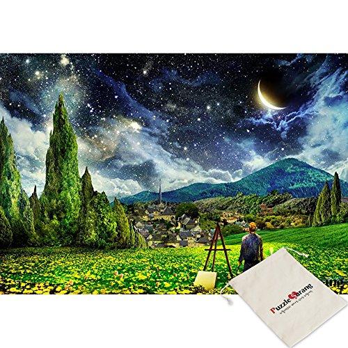 Puzzle Life Vincent Van Gogh notte stellata - Alex Louise - 2014 pezzo Mini Jigsaw Puzzle