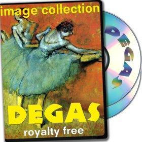 Degas, plus de 100 images de haute résolution numérique des droits Free DVD Collection