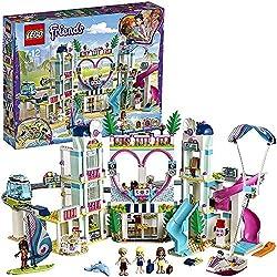 LEGO Friends - Resort De Heartlake City, Juguete de Construcción Parque de Aventuras Acuaticas y Hotel (41347)