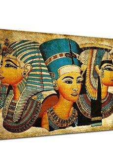 Arte de la Pared de la Lona, Antiguo Egipcio Mural Completo de la Pintura al óleo 40 * 60Cm Egipto Pintura de la Pared…