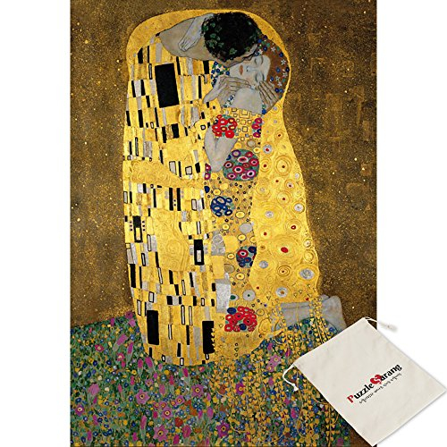 Puzzle Life Liebespaar il bacio - Gustav Klimt - 2000 Piece Jigsaw Puzzle