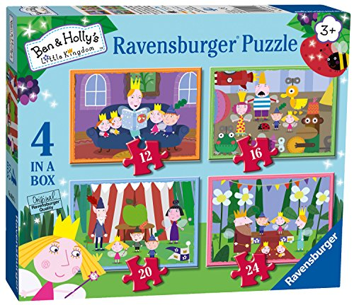 Ravensburger ben & Holly 4 puzzle in una scatola (12, 16, 20, 24PC)