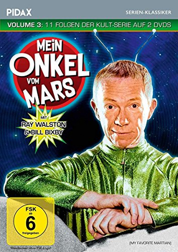 Mein Onkel vom Mars, Vol. 3 (My Favorite Martian) / Weitere 11 Folgen der Kult-Serie (Pidax Serien-Klassiker) [2 DVDs]