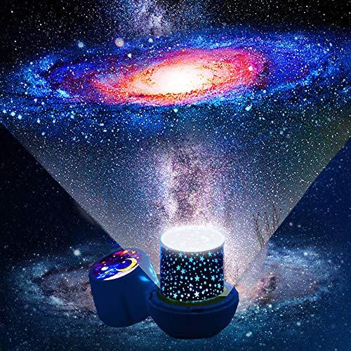 Proiettore stelle bambini - lampada proiettore bambini con cavo USB, lampada proiettore cielo...