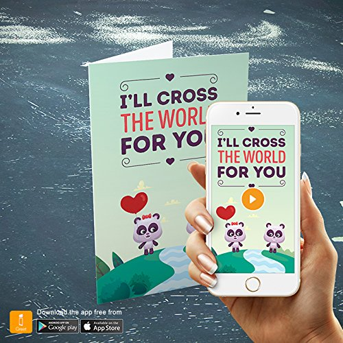 Igreet augmented reality greeting card ill cross the world igreet augmented reality greeting card m4hsunfo