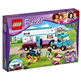 LEGO Friends 41125 - Pferdeanhänger und Tierärztin, Spielzeug für Jungen und Mädchen