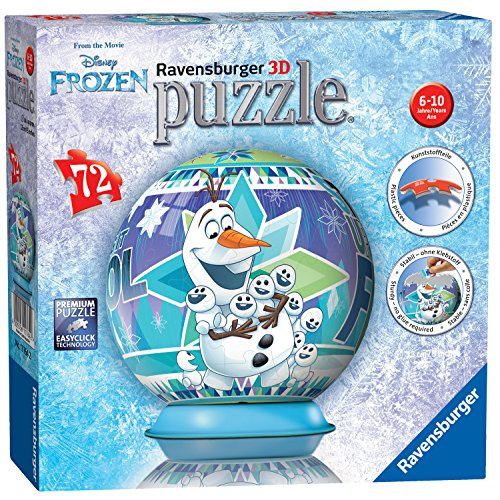 Ravensburger Disney Frozen, 72PC Puzzle 3D