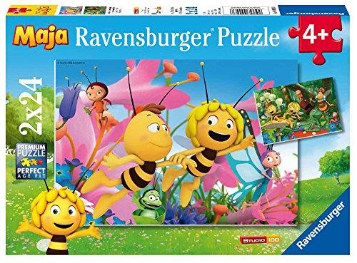 Ravensburger 09093 - Ape Maia Puzzle 2x24 Pezzi
