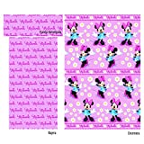 Juego sábanas coralina MINNIE Disney. Cama de 90 cm. Color Rosa
