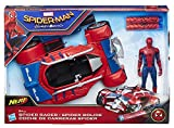 Marvel Spiderman - B9703EU40 - Spiderman Figurine 15 cm + Véhicule Movie