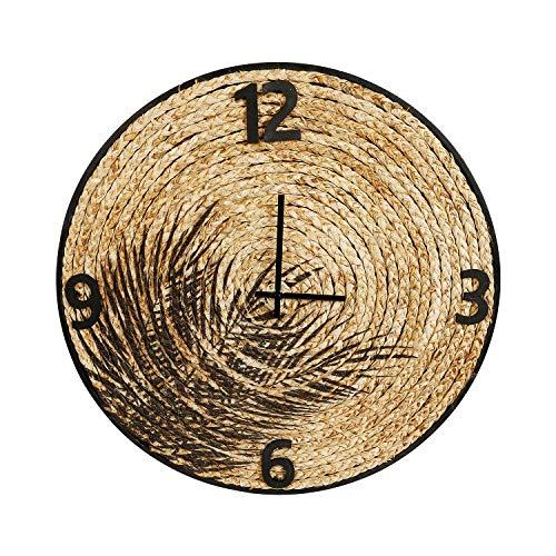 Orologio in paglia, da 40 cm