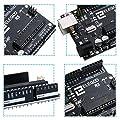 Elegoo UNO R3 Board Scheda ATmega328P ATMEGA16U2 con Cavo USB Compatibile con i progetti IDE di Arduino Conforme alla direttiva RoHS