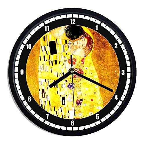 Orologio da parete in plastica il bacio di Klimt