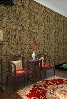 HEYUN& Egipto Modelo del papel pintado imitación talla personajes reales gráfico arte de la pared del cine y la televisión