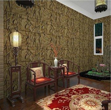 HEYUN& Egipto Modelo del papel pintado imitación talla personajes reales gráfico arte de la pared del cine y la televisión 3