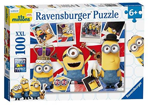 Ravensburger - Puzzle dei Minions, XXL, 100 pz.