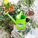 Antikas - juguete regadera infantil - regadera de metal color verde - regaderas para niños