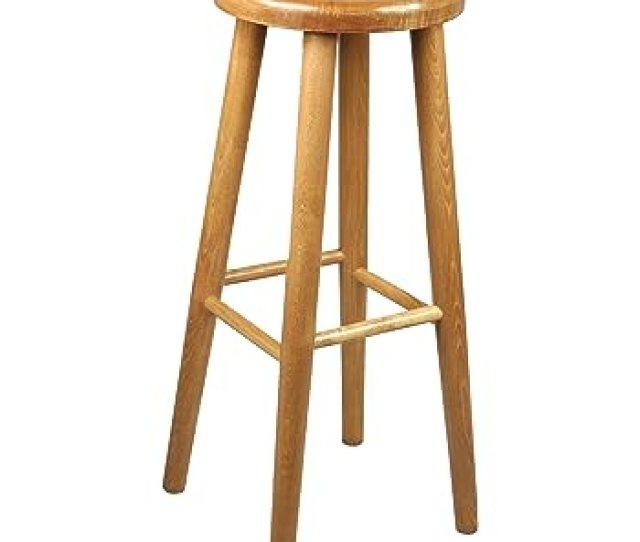 Bar Stool Wooden Chair Brand New Beech Solid Wood Bar Pub New 24 Ft