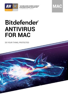 Bitdefender Antivirus | 1 Mac | 1 an | Téléchargement