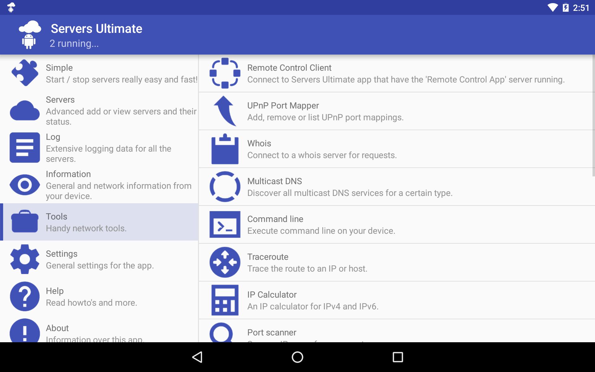 Servers Ultimate Pro Screenshot