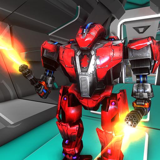 Robot Fight 3D Fighting Giochi Arcade Fighter Real Simulator: War Robots che sparano alla missione...