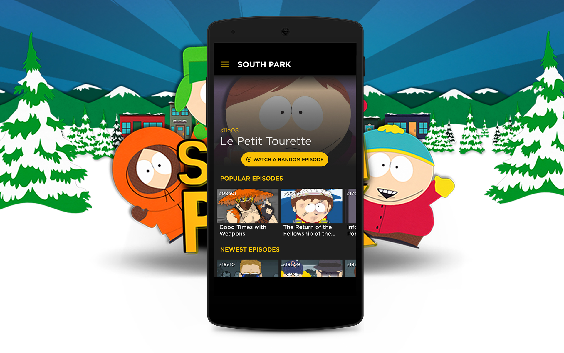 South Park TV Screenshot