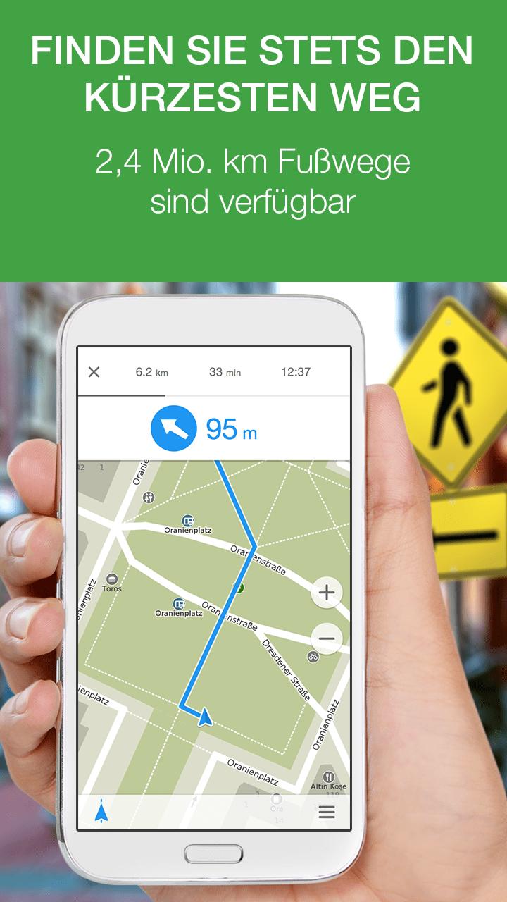 MAPS.ME Offline Karte & Routen Screenshot
