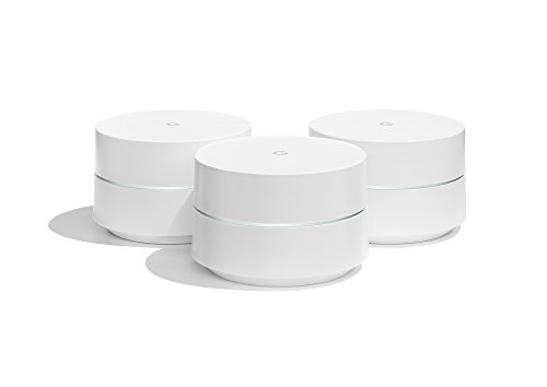 Google Wifi system (set of 3) - Router replacement for whole home coverage by Google