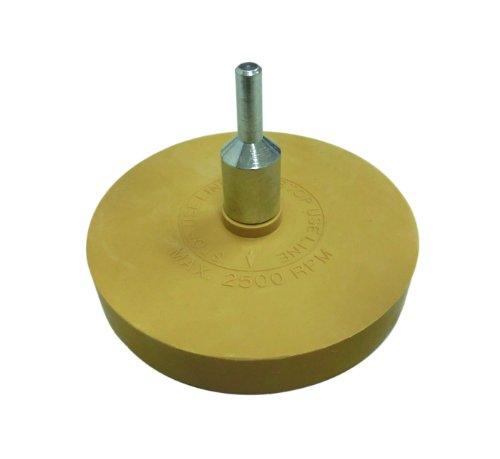 Garage.com2  ネジ式アダプター付き ステッカーはがしトレーサー(イレーサーパット) 消しゴムのように消します N008
