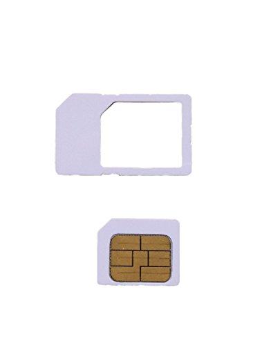 【iOS6対応】 ソフトバンク専用 iPhone アクティベート カード 【iPhone 4  4S 全 iOS 対応 6.1.2 確認済】 MS オリジナル商品  Nano SIM にカットすれば、iPhone5 にも使用可能