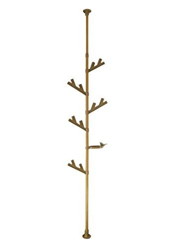 積水樹脂商事 つっぱり式ポールハンガー I tree 北欧スタイル ウッド TPH2-WOOD