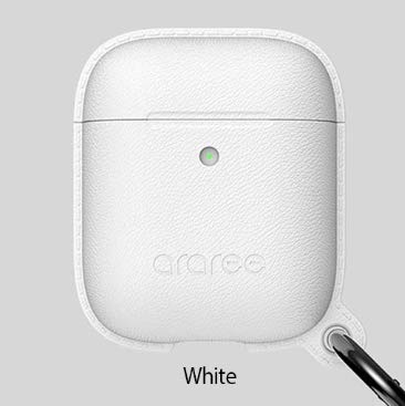 (国内正規品)AirPods Case POPS Wireless Charging Case及びCharging Case対応 カラビナ付き (AR16461AP-M(White))